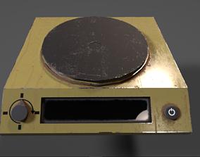 3D model Heating Plate PBR