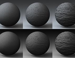 3D model Displacement Landscape Shader 005