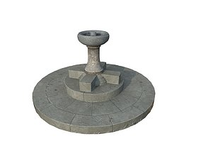3D Drinking Fountain 4