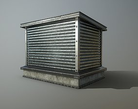 3D asset Rooftop Air Conditioner