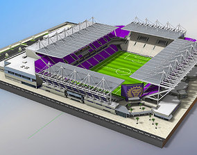 3D asset Orlando City Stadium