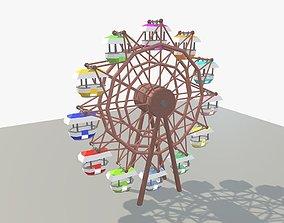 3D asset Fantasy Ferris Wheel