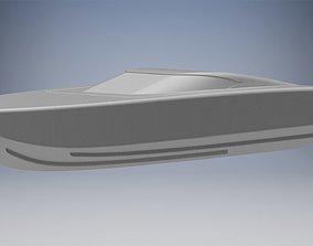 3D print model RC racing boat