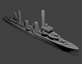 Dutch Admiralen Class Destroyer Warship 3D print model