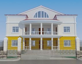 House 3D home cement