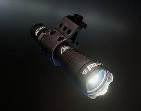 3D model Armytek Predator Pro xhp35 flashlight
