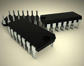 3d model of chip 14 feet