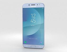 Samsung Galaxy J7 2017 Blue 3D model