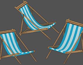 activity 3D model beach chair