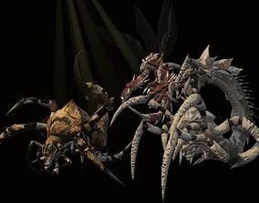Nightmare Beetle Pack 3D model