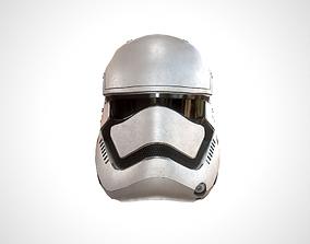3D model realtime Star Wars Stormtrooper Helmet