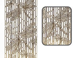 Decorative butterfly 3D asset