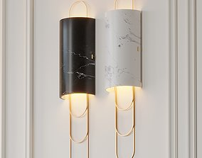 Niagara Wall Sconce by Ginger and Jagger 3D