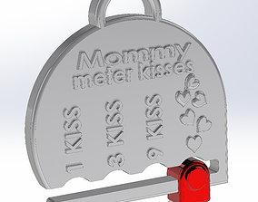 3D model The medal mom