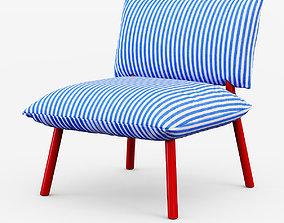 Pillow Lounge L 3D