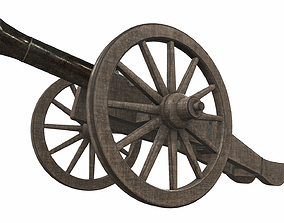 3D model Cannon 2