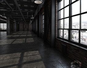 3D Loft Interior 3