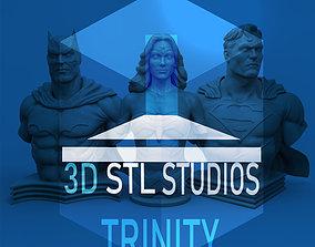 TRINITY DC BUSTS 3D printable model