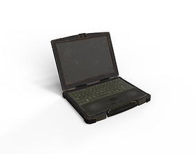 3D model Military Laptop Computer