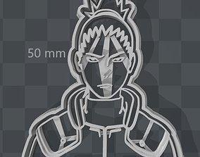 3D print model Shikamaru Nara Ninja Naruto Cookie Cutter