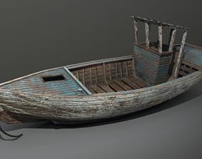 Abandoned boat 3D model