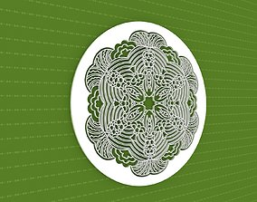 Mandala pattern 3D