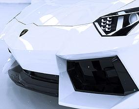 reventon Lamborghini Aventador 3D model