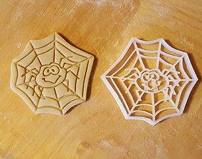 Spider cookie cutter 3D print model