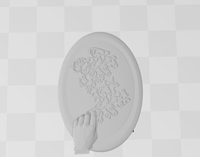 3D printable model Filligree Pendant Judding Out Of a 5