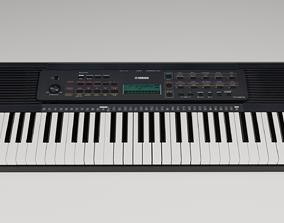 3D model Yamaha Keyboard Lowpoly