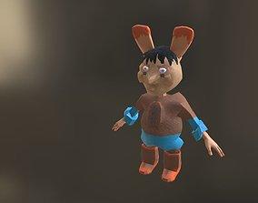 3D asset Bunny character