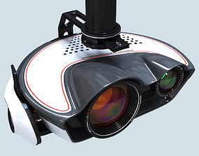 Video Camera System Steadicam 3D model