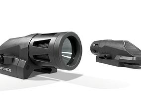 3D model Inforce WML Rifle Weapon Mounted Light