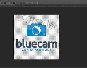 3D printable model Blue Cam Logo