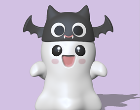 A Halloween - Ghost to decorate and play 3D print model