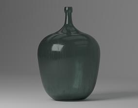 3D asset Old big Bottle