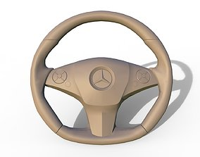 3D printable model trinket Mercedes-Benz C 63