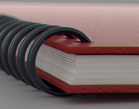 3D model Spiral Sketchbook