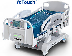 Medical Bed Stryker Intouch 3D model