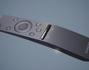 3D model Samsung Smart TV Remote