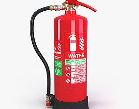 3D model Water fire extinguisher