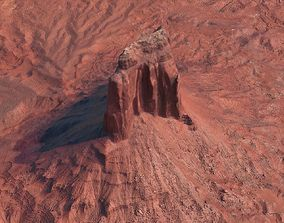 3D Arizona Mountain 002