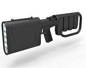 EMP rifle from the movie Dark Knight rises 3D
