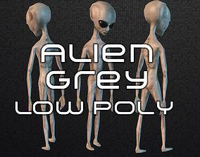 3D model Alien Grey