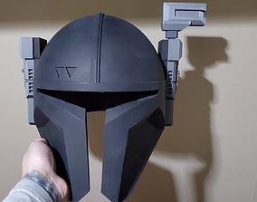 The Mandalorian Paz Vizsla Heavy 3D printable model 2