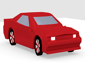 Muscle Car For Gaming 3D model