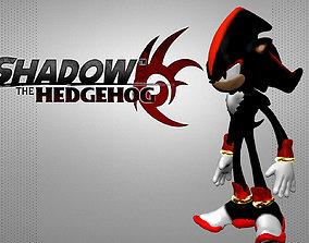 Shadow the Hedgehog 3D printable model
