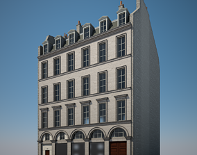 3D Old Building IX
