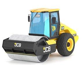 Compactor JCB VM117 3D asset