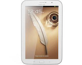 3D model Samsung Galaxy Note 8 0 White
